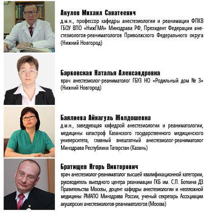 докладчики