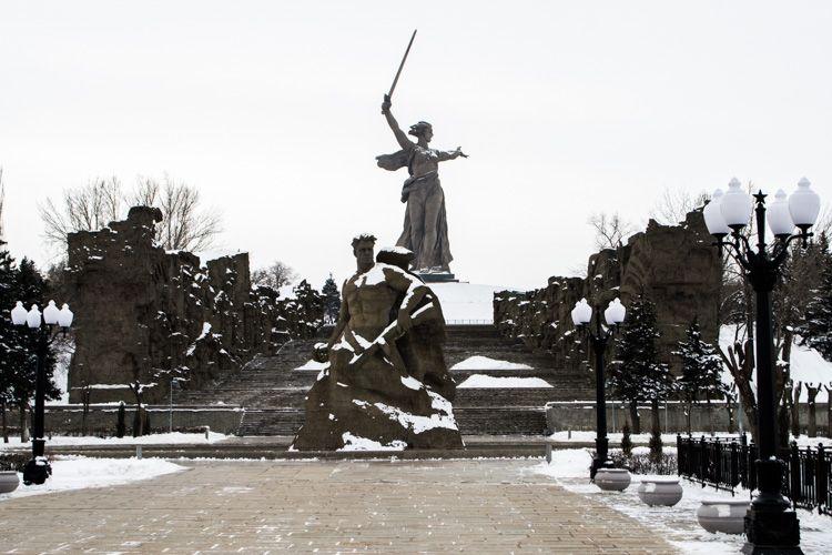 Фото Волгограда (зима)